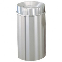 Tip-Action Self Closing Trash Can