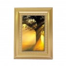 Beaded Photo Frame Applique: Gold-Tone